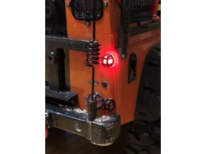 TRX-4 Defender Rear lamp guard large and small