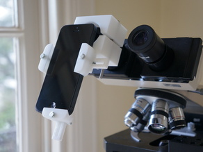 Universal Phone Microscope Adapter