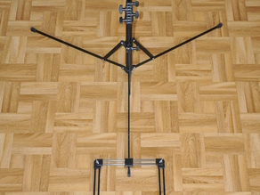 Fishing Rod Holder with Tripod (Manfrotto 5001b)