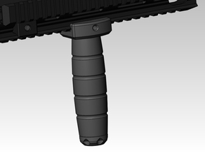 airsoft rail system front grip