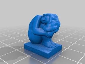 Čestmír Mudruňka - Žena na slunci (Statue 3D Scan)