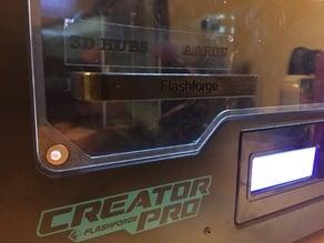 Flashforge Creator Pro Handle