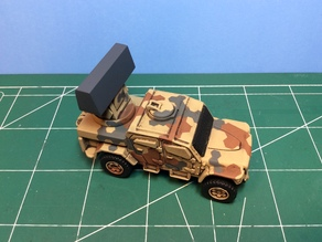 Acquisition Radar for Matchbox MXT toy truck
