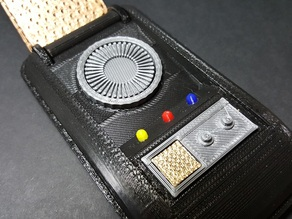 Star Trek (TOS) Communicator Cover (fits thehaggard's body)