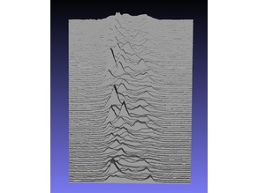 "Tactile Album Art: Joy Division ""Unknown Pleasures"""