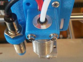 Prusa i3 E3D v6 HotEnd Mount With Sensor (12mm and 18mm)