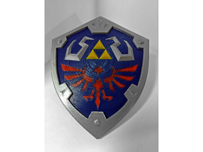 The Legend of Zelda - Hylian Shield (Breath of the Wild)