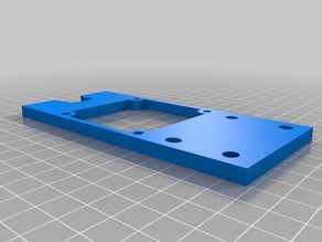 filastruder extra 60mm Fan mount with and with out filament guide.