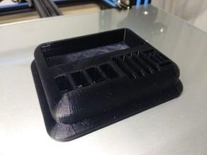 Micro SD, SD, USB and Headphones Holder