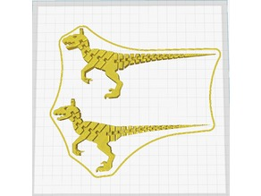 Flexi Raptor Keychain