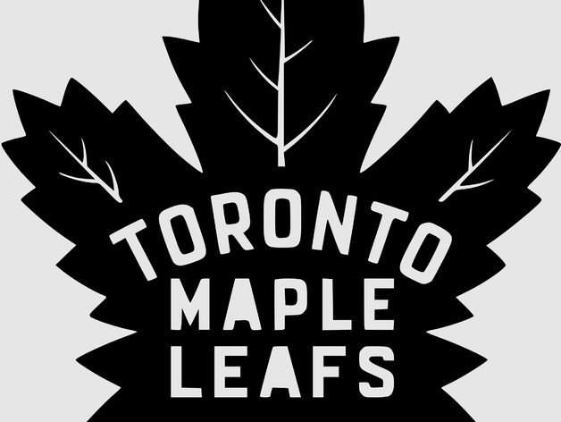 New Toronto Maple Leafs Logo By Chelch Thingiverse