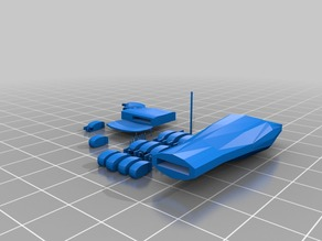Robotic Hand in Printable Pose
