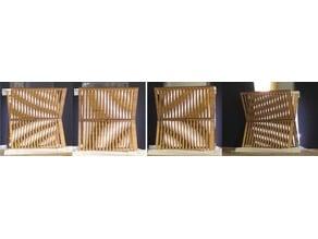 Inogon style Moire pattern