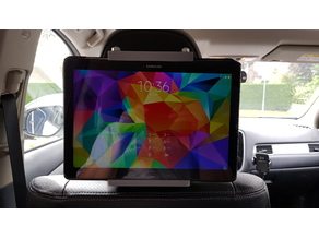 Universal Tablet Holder for in the Car