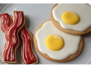 Bacon & Eggs Cookie Cutters