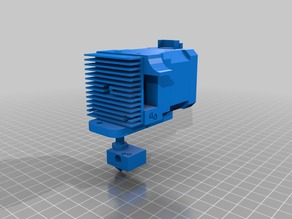 Geeetech Prusa i3 pro B complete extruder