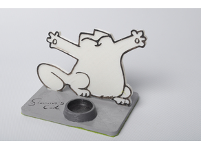 Simon's Cat Phone Stand
