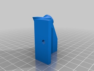 Printrbot LC V2 Dial gauge mount