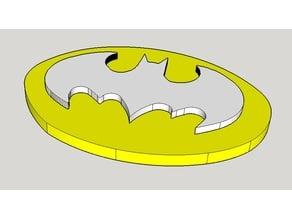 Batman logo çift renk