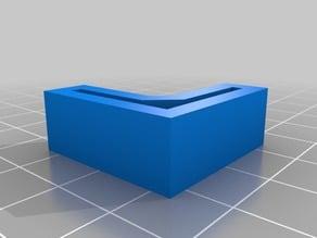 My Customized Shelf Feet - Remix from Edsal Shelf Feet