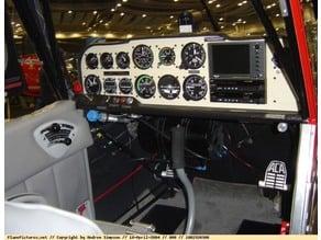 Super Decathlon Cockpit for the giant scale Hanger 9 Kit