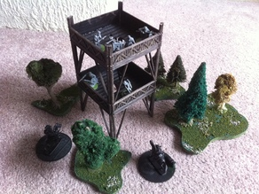 Ancients/Medieval/Fantasy 28mm Watchtower Kit