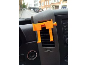 Reprint of adjustable car phone holder