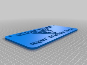 magnus` 3D printer sign