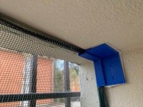 Mosquito net holder