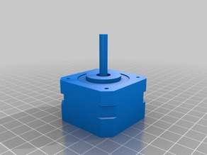 NEMA17 Stepper Motor 3D Model