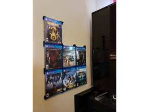 Video game/DVD Case wall mounts