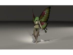 Glide pose Fairy