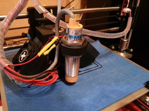 Inductive/Capazitive Mount for E3D v6 Bowden Carriage