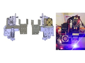 CR10S Pro Eleks 3.5W Laser Mount