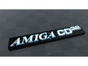 Logo Commodore Amiga CD 32