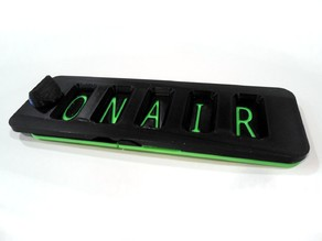 ON AIR Letterplate