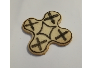 Palm size Quadcopter Drone cookie cutter