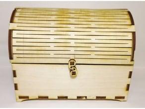 Tresure chest - lasercut