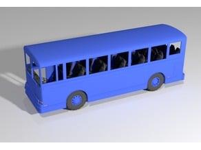 1/18 Scale Transit Bus