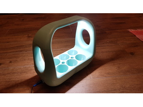 Green Planter with LED light and water tank
