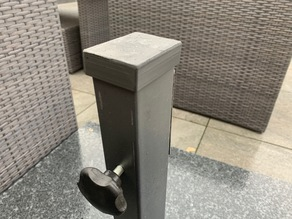 Cover set  for parasol feet 130kg stone