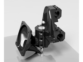 UPDATED! Anet A8 - e3d v6 XtraSolid Support with 60mm fan v2.0