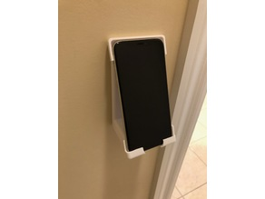 Customizable wall mount phone stand