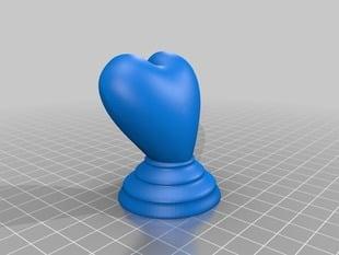 Heart trophy