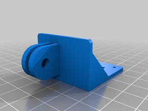 FPV camera to GoPro mount adapter