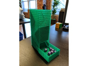 Dice Tower with Storable Gate