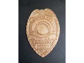 Gotham Police Badge