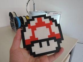 Mario 8bit Mushroom