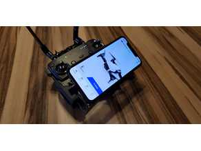 DJI Mavic Pro/Air/Spark Iphone X holder mount