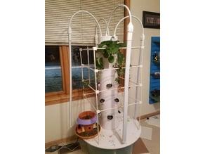 DIY Tower Garden Support Cage